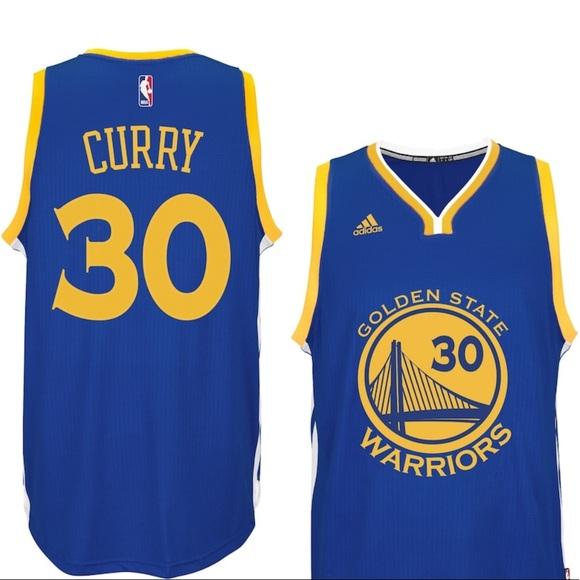 ADIDAS NBA JERSEY Stephen Curry Golden State XL